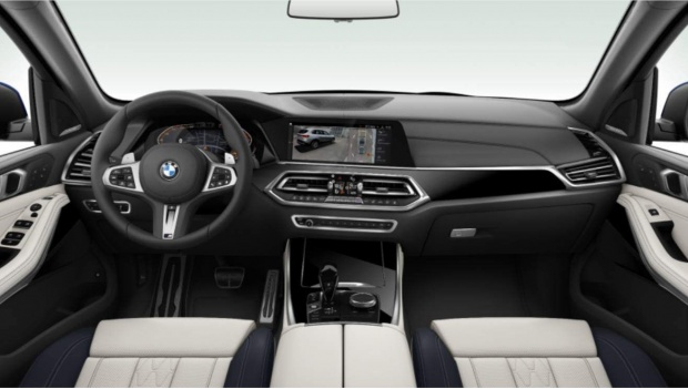 2021 BMW 40i MHT M Sport Auto xDrive 5-door (Blue) - Image: 5