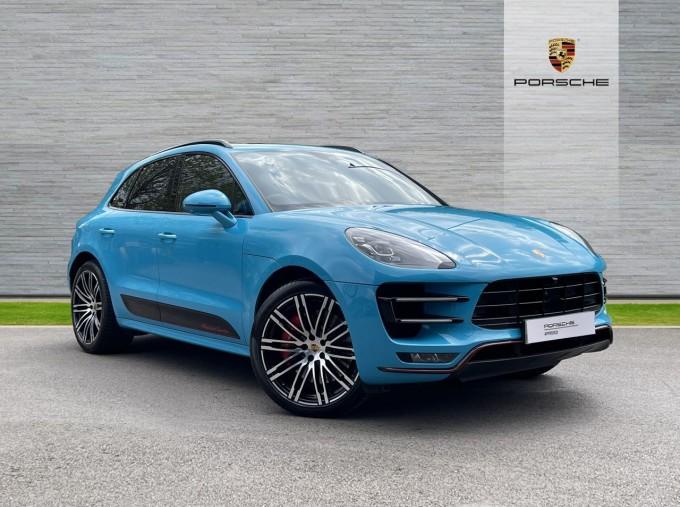 2018 Porsche Turbo Performance PDK 4WD 5-door (Blue) - Image: 1