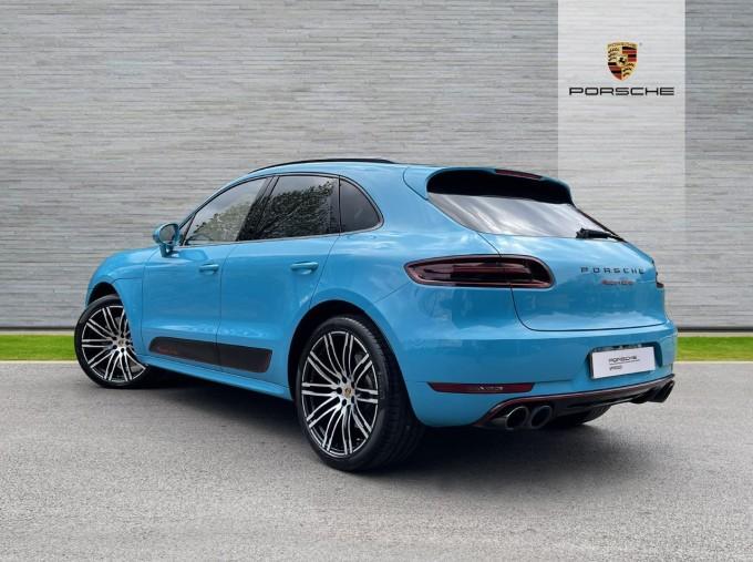 2018 Porsche Turbo Performance PDK 4WD 5-door (Blue) - Image: 2