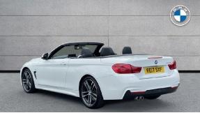 2017 BMW 430d M Sport Convertible (White) - Image: 2