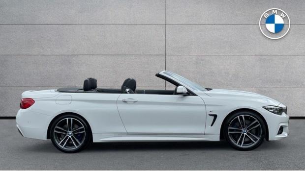 2017 BMW 430d M Sport Convertible (White) - Image: 3