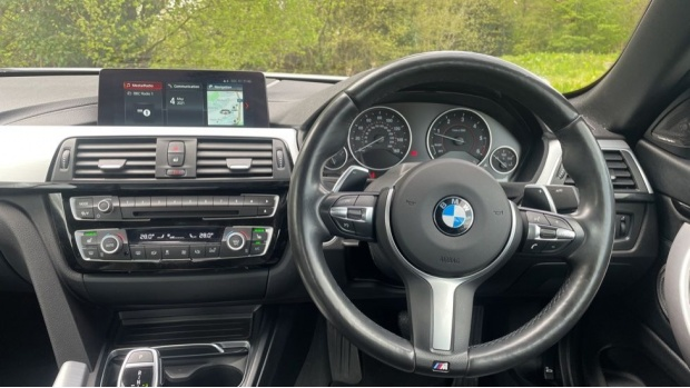 2017 BMW 430d M Sport Convertible (White) - Image: 5