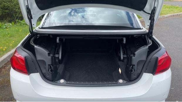 2017 BMW 430d M Sport Convertible (White) - Image: 13