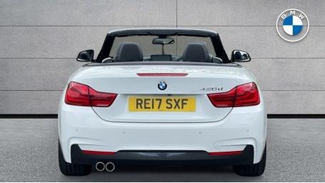 2017 BMW 430d M Sport Convertible (White) - Image: 15