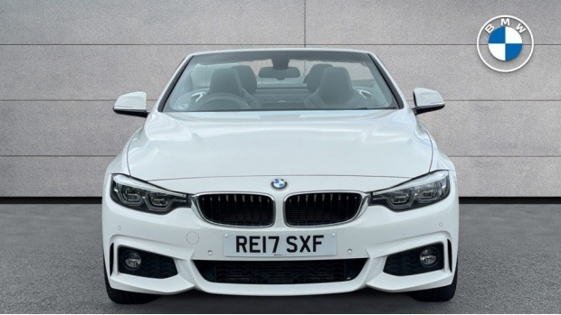 2017 BMW 430d M Sport Convertible (White) - Image: 16