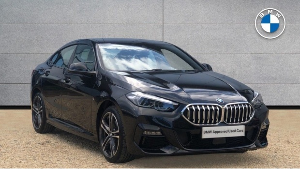2020 BMW 218i M Sport Gran Coupe (Black) - Image: 1