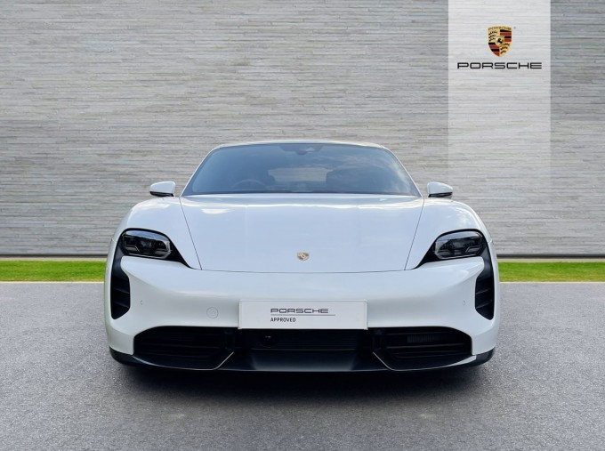 2020 Porsche 93.4kWh Turbo S Auto 4WD 4-door (White) - Image: 6