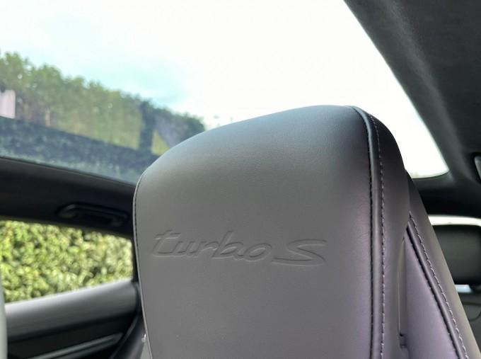 2020 Porsche 93.4kWh Turbo S Auto 4WD 4-door (White) - Image: 16