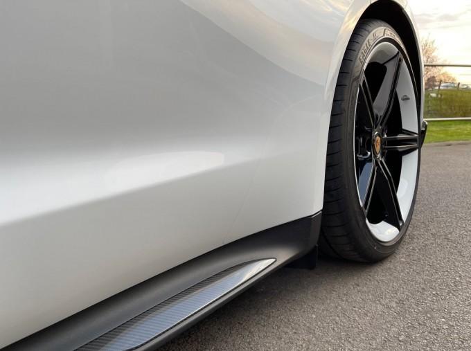 2020 Porsche 93.4kWh Turbo S Auto 4WD 4-door (White) - Image: 20