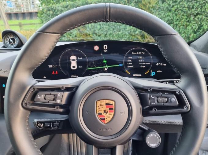 2020 Porsche 93.4kWh Turbo S Auto 4WD 4-door (White) - Image: 30
