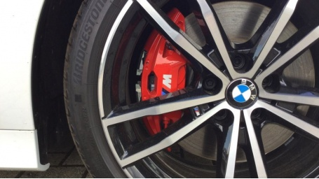 2021 BMW 320d M Sport Saloon (White) - Image: 27