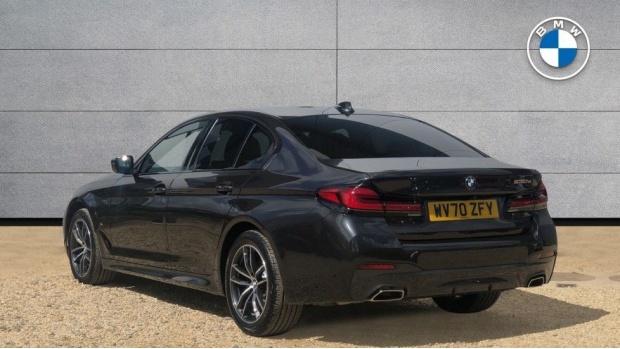 2021 BMW 530e M Sport Saloon (Grey) - Image: 2