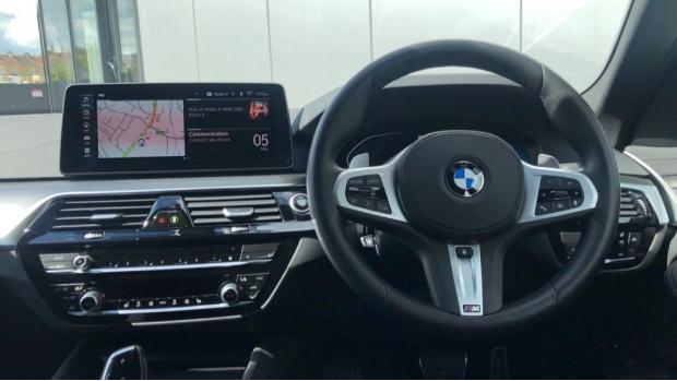 2021 BMW 530e M Sport Saloon (Grey) - Image: 5