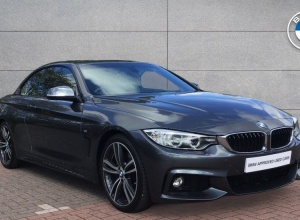 Brand new 2016 BMW 4 Series 420d M Sport Convertible 2-door finance deals