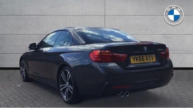 2016 BMW 420d M Sport Convertible (Grey) - Image: 2