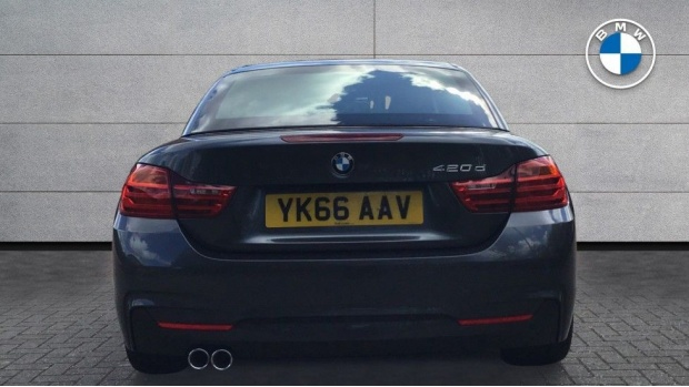 2016 BMW 420d M Sport Convertible (Grey) - Image: 15