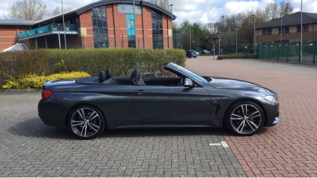 2016 BMW 420d M Sport Convertible (Grey) - Image: 24