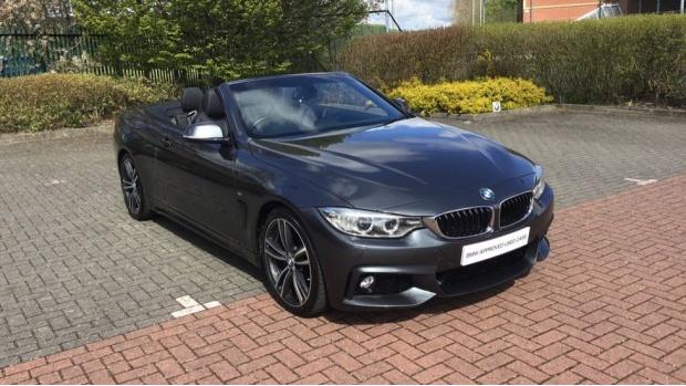 2016 BMW 420d M Sport Convertible (Grey) - Image: 25