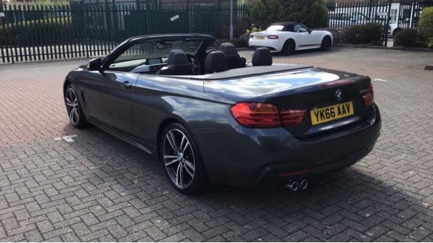 2016 BMW 420d M Sport Convertible (Grey) - Image: 26