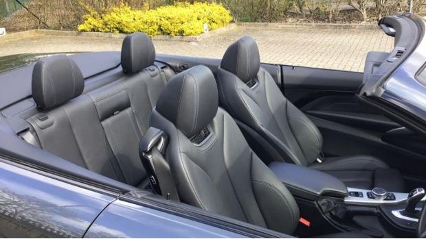2016 BMW 420d M Sport Convertible (Grey) - Image: 28