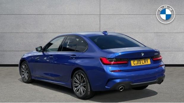 2019 BMW 320i M Sport Saloon (Blue) - Image: 2
