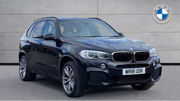 2018 BMW XDrive30d M Sport (Black) - Image: 1