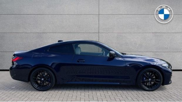 2021 BMW 420i M Sport Pro Edition Auto 2-door (Blue) - Image: 3