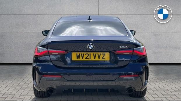 2021 BMW 420i M Sport Pro Edition Auto 2-door (Blue) - Image: 15