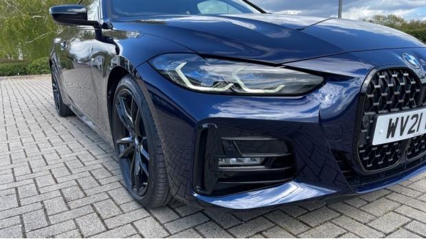 2021 BMW 420i M Sport Pro Edition Auto 2-door (Blue) - Image: 27