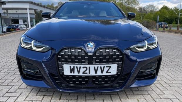 2021 BMW 420i M Sport Pro Edition Auto 2-door (Blue) - Image: 28