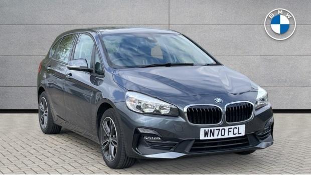 2020 BMW 216d Sport Active Tourer (Grey) - Image: 1