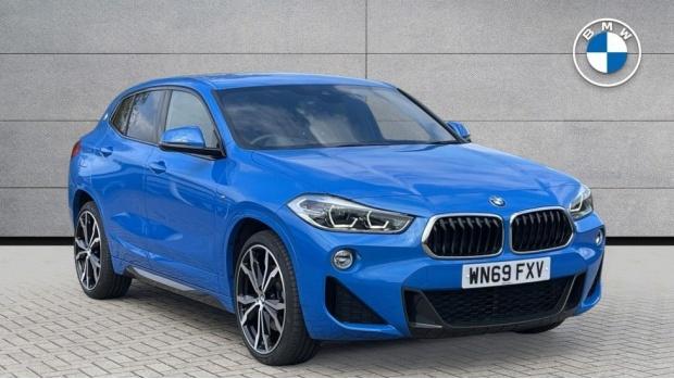 2019 BMW XDrive20d M Sport (Blue) - Image: 1