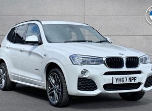 Brand new 2017 BMW X3 xDrive20d M Sport 5-door finance deals