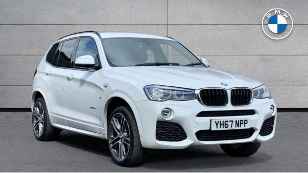 2017 BMW XDrive20d M Sport (White) - Image: 1