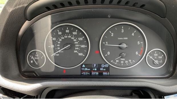 2017 BMW XDrive20d M Sport (White) - Image: 9