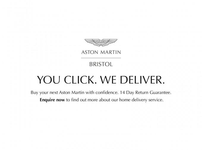2019 Aston Martin Coupe (White) - Image: 2