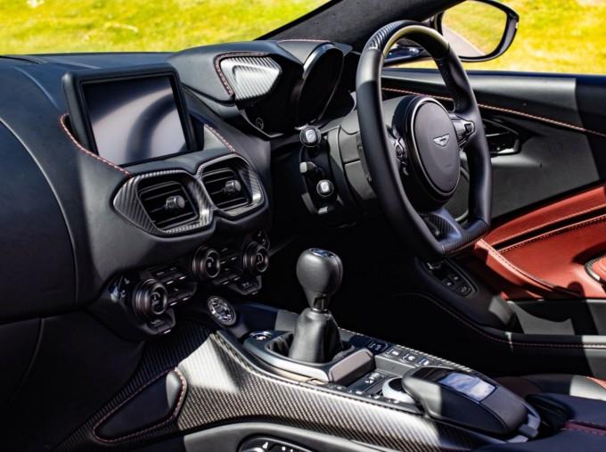 2019 Aston Martin Coupe (White) - Image: 5