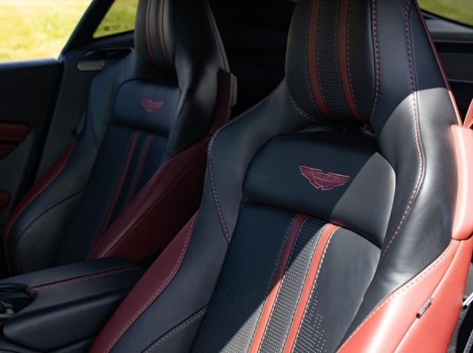 2019 Aston Martin Coupe (White) - Image: 13