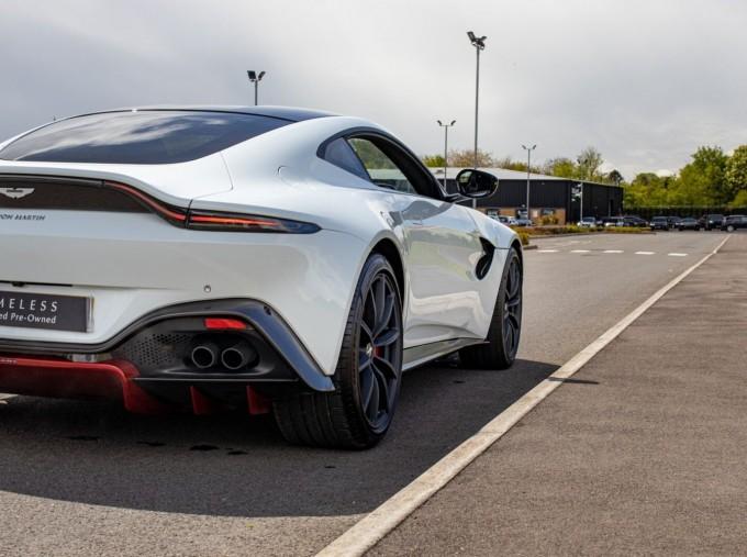 2019 Aston Martin Coupe (White) - Image: 28