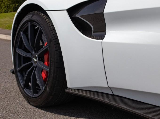2019 Aston Martin Coupe (White) - Image: 32