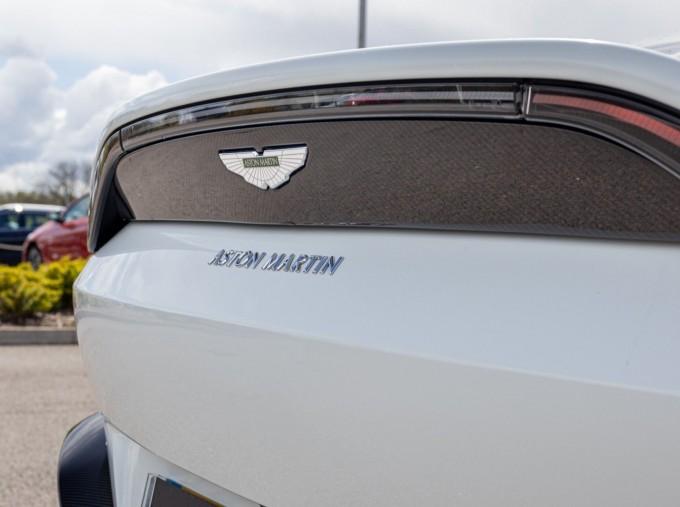 2019 Aston Martin Coupe (White) - Image: 39