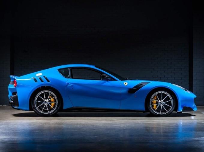 2017 Ferrari F12 tdf Coupe Unlisted (Blue) - Image: 3