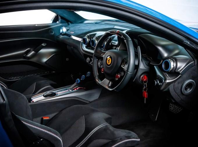 2017 Ferrari F12 tdf Coupe Unlisted (Blue) - Image: 4