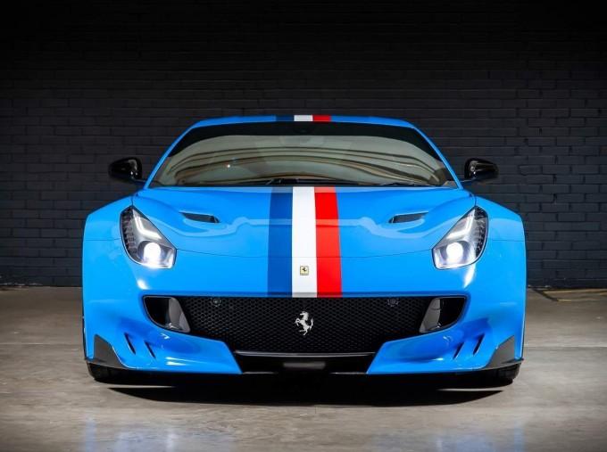 2017 Ferrari F12 tdf Coupe Unlisted (Blue) - Image: 7