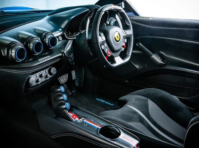 2017 Ferrari F12 tdf Coupe Unlisted (Blue) - Image: 17