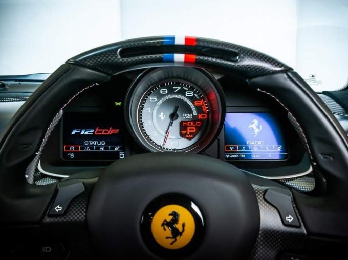 2017 Ferrari F12 tdf Coupe Unlisted (Blue) - Image: 19