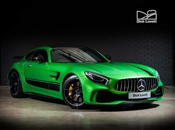 2018 Mercedes-Benz V8 BiTurbo R (Premium) SpdS DCT 2-door (Green) - Image: 1