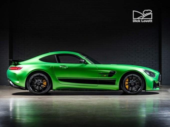 2018 Mercedes-Benz V8 BiTurbo R (Premium) SpdS DCT 2-door (Green) - Image: 3