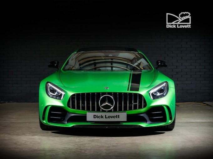 2018 Mercedes-Benz V8 BiTurbo R (Premium) SpdS DCT 2-door (Green) - Image: 7