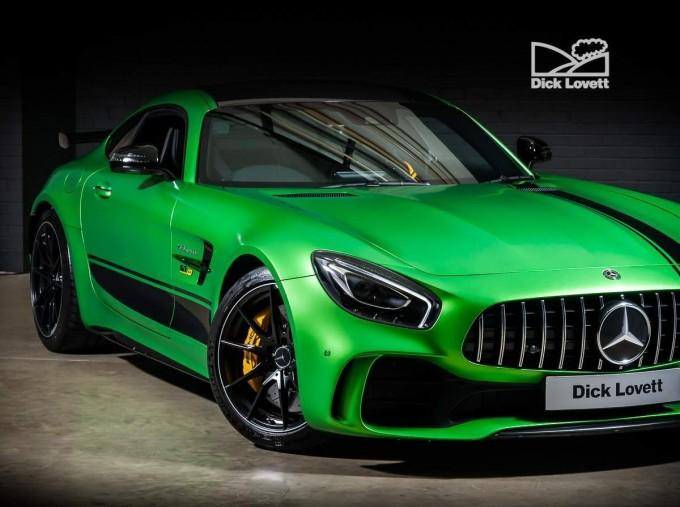 2018 Mercedes-Benz V8 BiTurbo R (Premium) SpdS DCT 2-door (Green) - Image: 9